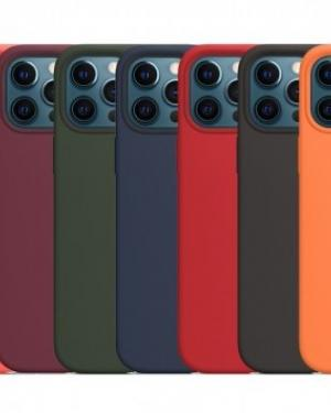IPHONE 12 PRO MAX A2411 COVER SILICONE CASE ORIGINALE