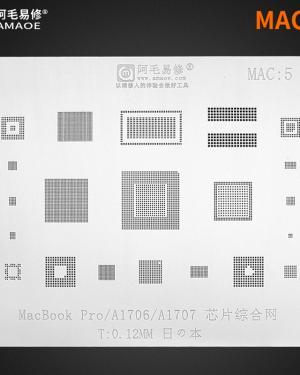 STENCIL PER MACBOOK RIPARAZIONE SSD / HDD BGA REBALLING