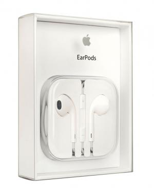 APPLE CUFFIE AURICOLARI 3.5MM EARPODS MD827LL/A ORI BLISTER