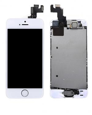 IPHONE 5S DISPLAY BIANCO COMPLETO CON RICAMBI