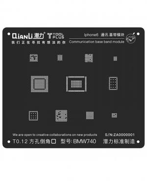 QIANLI 3D IPHONE 6 6 PLUS BGA REBALLING STENCIL