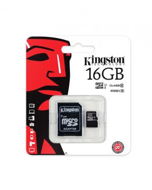 KINGSTON MEMORYCARD MMC 16GB CLASSE 10