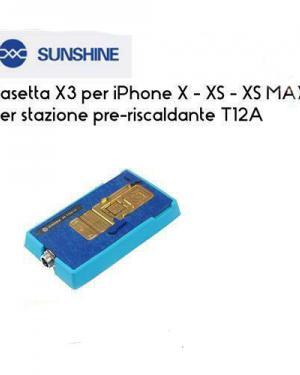 BASETTA SUNSHINE T12A-X3 SEPARAZIONE SCHEDAMADRE IPHONE X,XS,XS MAX