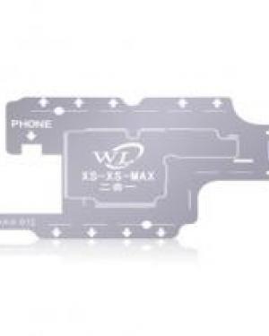 STENCIL MAX 0.12 PER SCHEDAMADRE CENTRALE IPHONE XS XS MAX