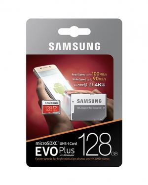 SAMSUNG MEMORYCARD 128GB CLASSE 10 EVO PLUS UHS-I