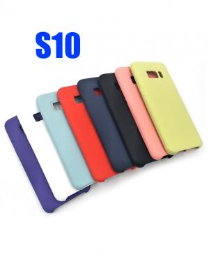 S10 COVER SILKY E SOFT TOUCH SAMSUNG IN SILICONE BLIST