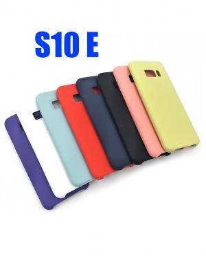 S10 E COVER SILKY E SOFT TOUCH SAMSUNG IN SILICONE BLIST