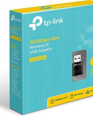 WIELESS N NANO USB ADAPTER TPLINK 300 MBPS