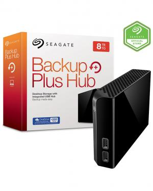 SEGATE BACKUP PLUS HUB 8TB